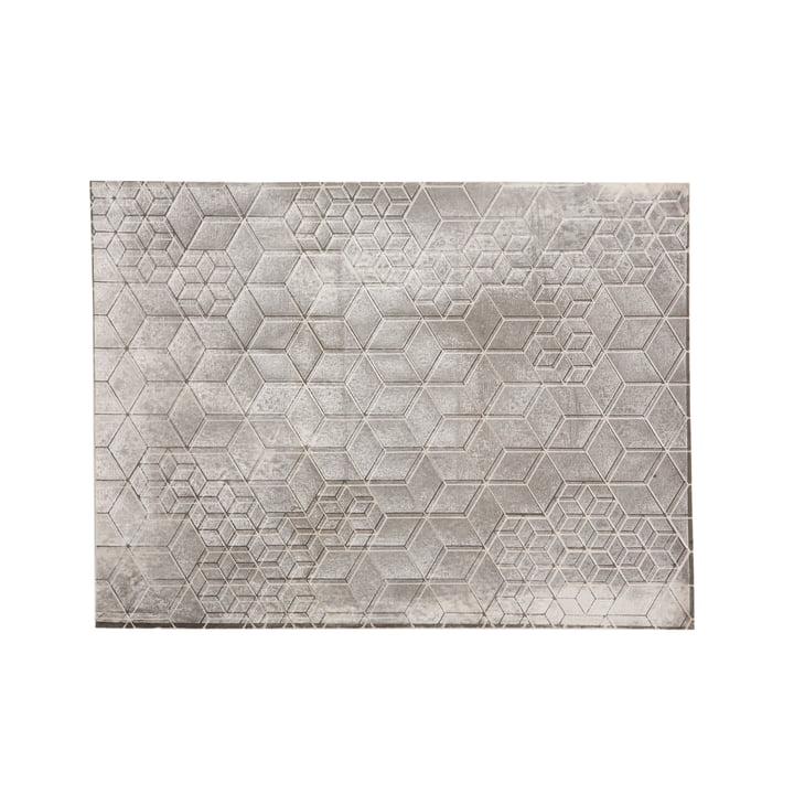 Mika Barr - Tischset Tin, 50 x 40 cm, grey