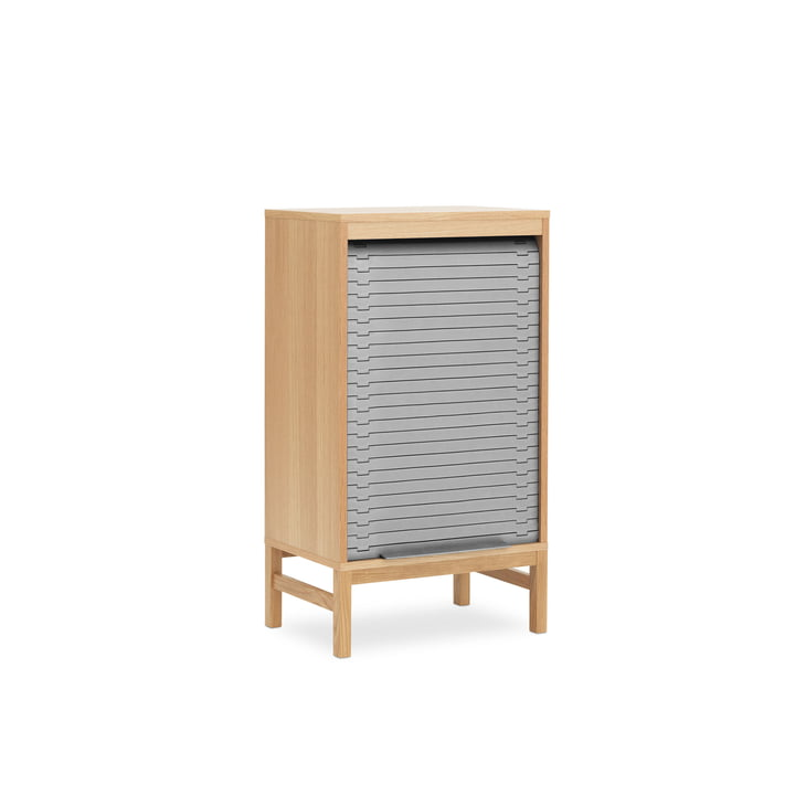 Chest of drawers with blinds in Low H 101,5 cm by Normann Copenhagen in grey