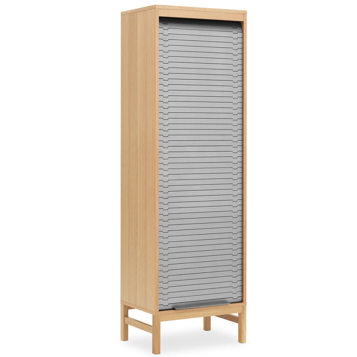 Chest of drawers with blinds in High H 180 cm by Normann Copenhagen in grey