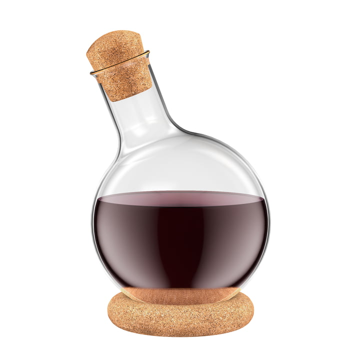 Melior Wine Decanter by Bodum with Cork