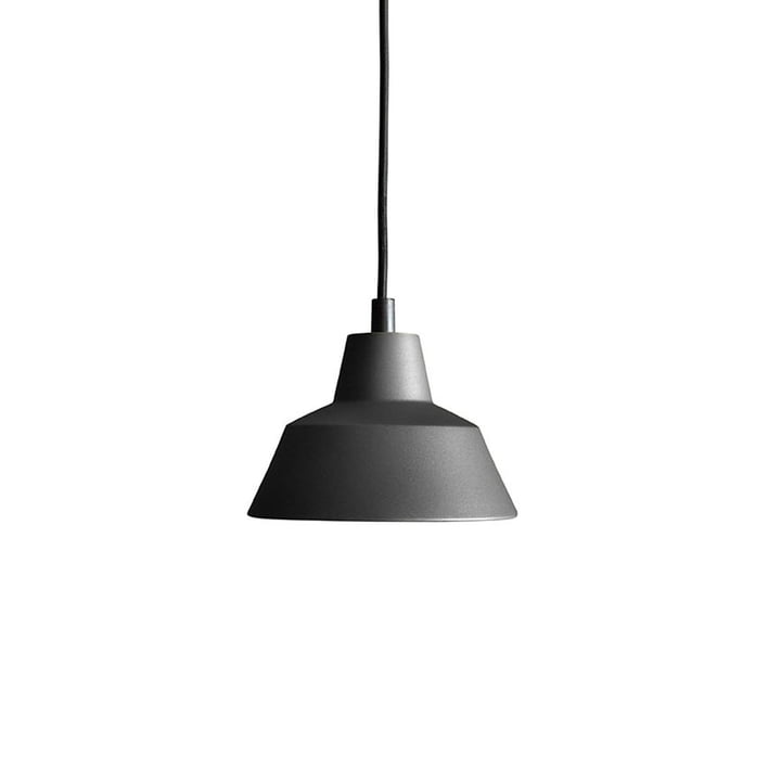 The Made by Hand - Workshop Lamp W1 in anthracite black / black