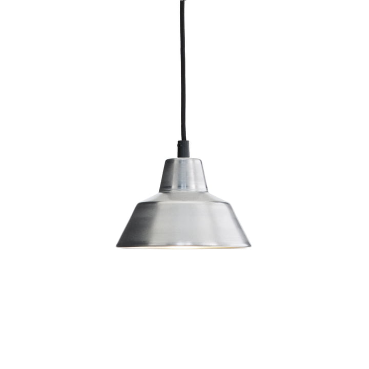 Made by Hand - Workshop Lamp W1 in aluminium / black