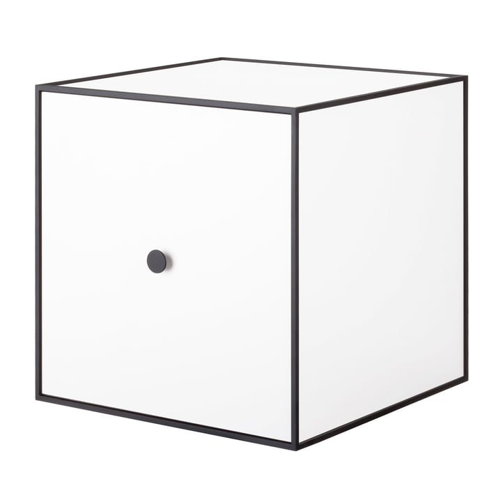 Frame Wall cabinet 35 (incl. door) from by Lassen in white