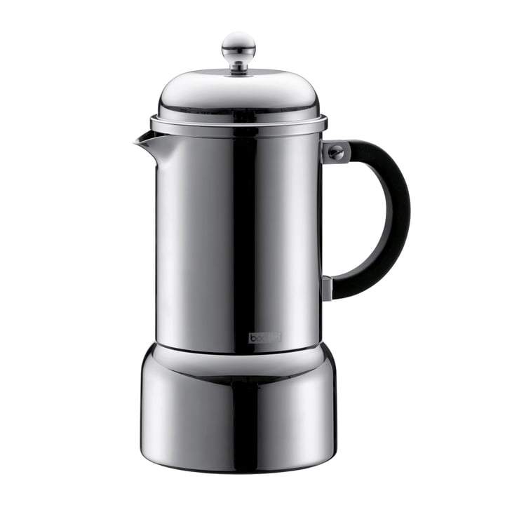 Chambord espresso maker 0.35 l from Bodum made of stainless steel