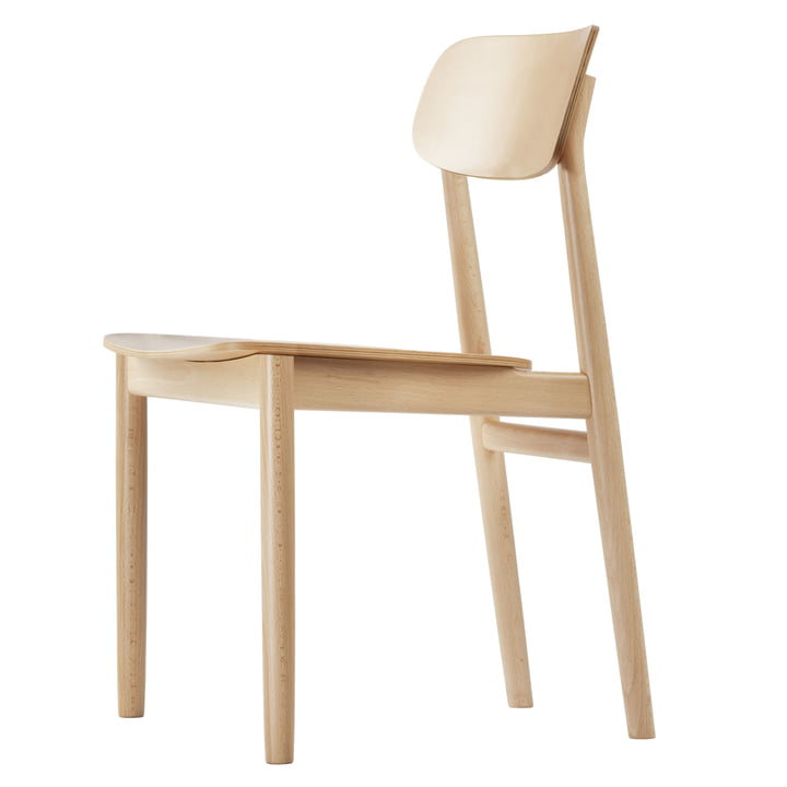 130 Chair by Thonet in natural beech (TP 17)