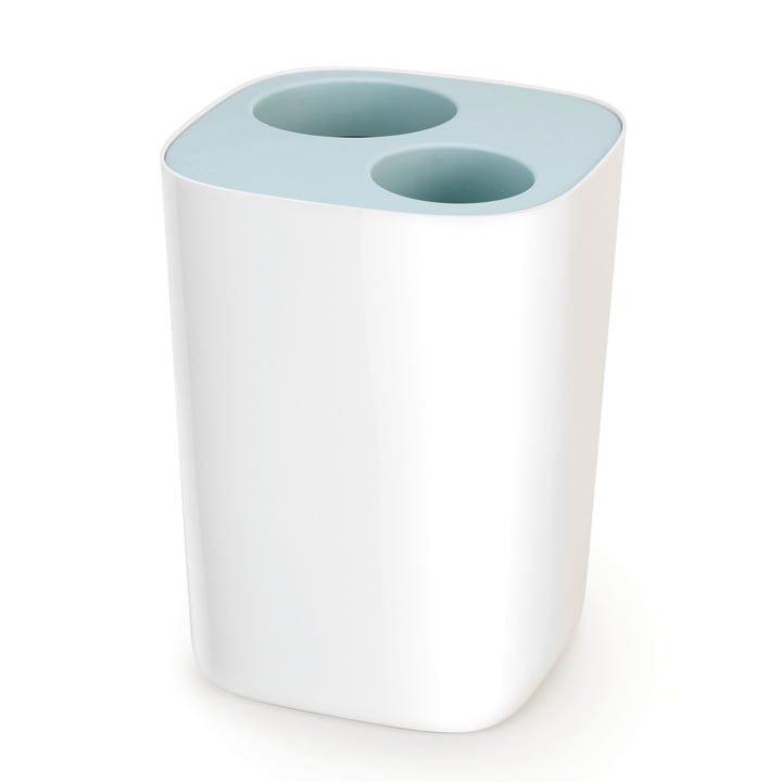 Joseph Joseph - Split Bathroom Recycling Bin, blue