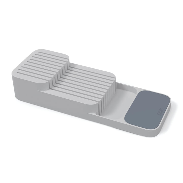 Joseph Joseph - DrawerStore Knife Organiser, two tiers / grey
