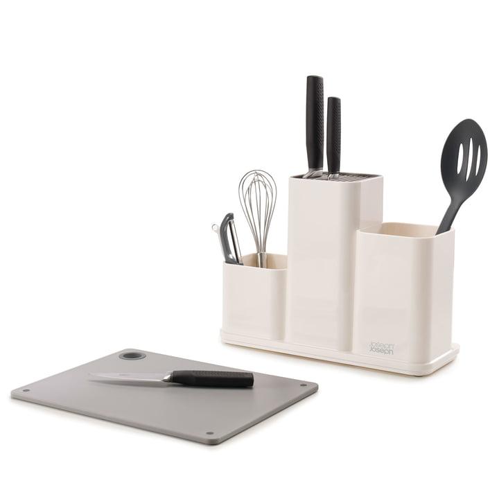 The Joseph Joseph - CounterStore Kitchen Worktop Organiser with Chopping Board