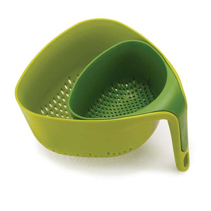 Joseph Joseph - Nest Colander, green (2 piece)