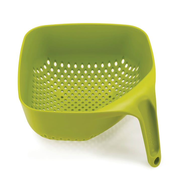 Square Colander by Joseph Joseph in Green