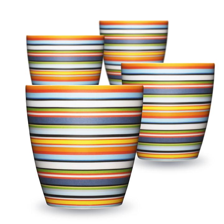 Origo Mug (4er-Set)l, orange