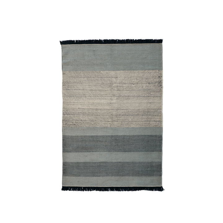 The nanimarquina - Tres Stripes 170 x 240 cm in blue