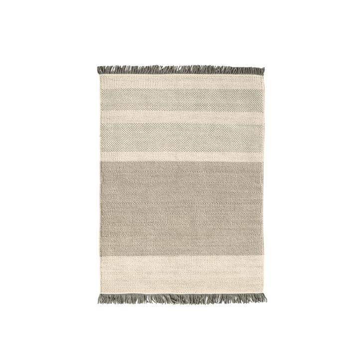 The nanimarquina - Tres Stripes 170 x 240 cm in perle