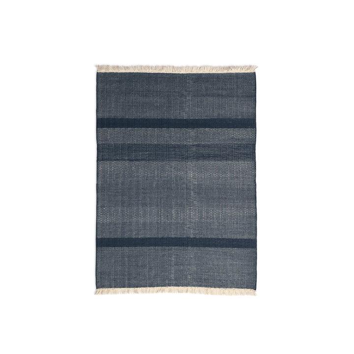 nanimarquina - Tres Texture 170 x 240 cm in blue