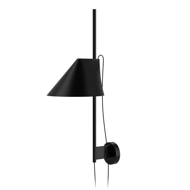 The Louis Poulsen - Yuh Wall Lamp LED in black