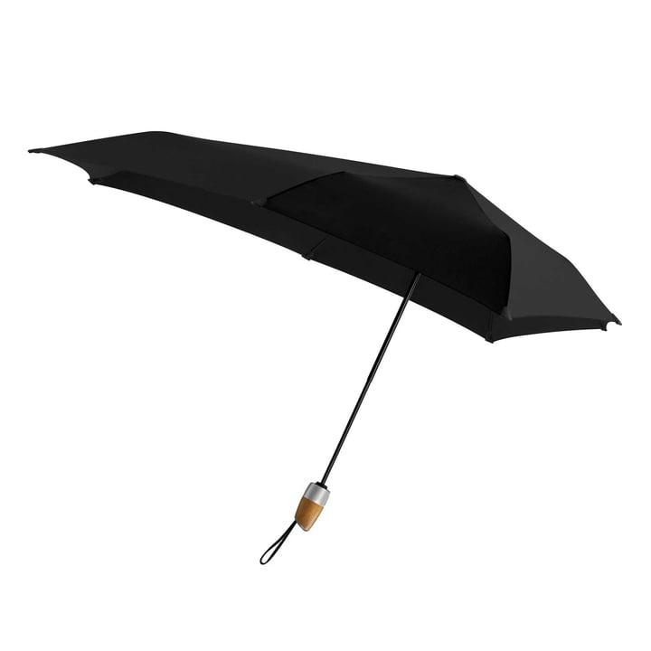 Senz - Automatic DELUXE Umbrella, pure black