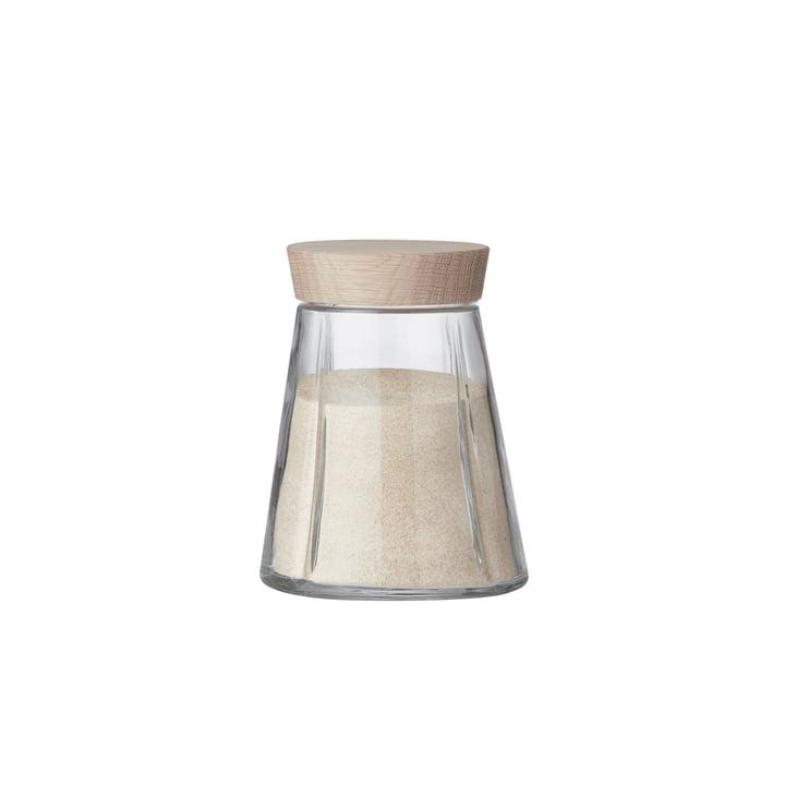 Grand Cru Storage Jar with Oak Lid, 125 mL by Rosendahl