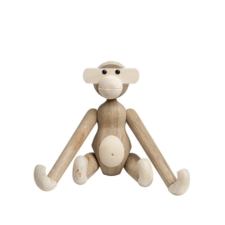Kay Bojesen Denmark - Wooden Monkey, Oak / Maple