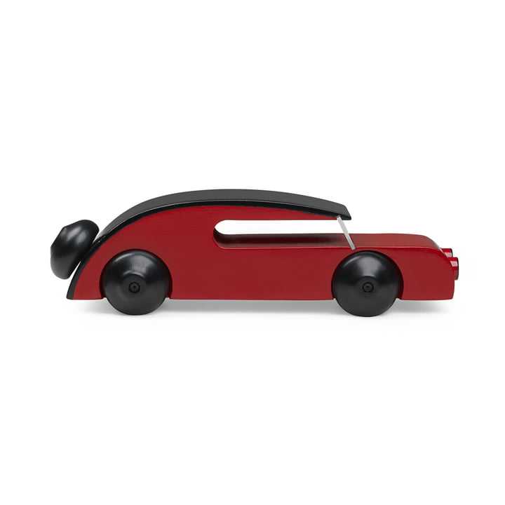 Sedan Car 13 cm by Kay Bojesen in Black / Red