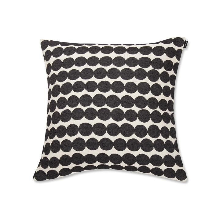 Räsymatto Pillow case 50 x 50 cm from Marimekko in black / white