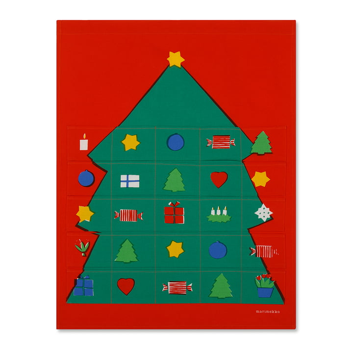 Rosolli Advent Calendar by Marimekko