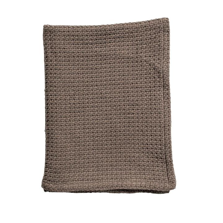 Cotton Blanket by Bloomingville in Brown