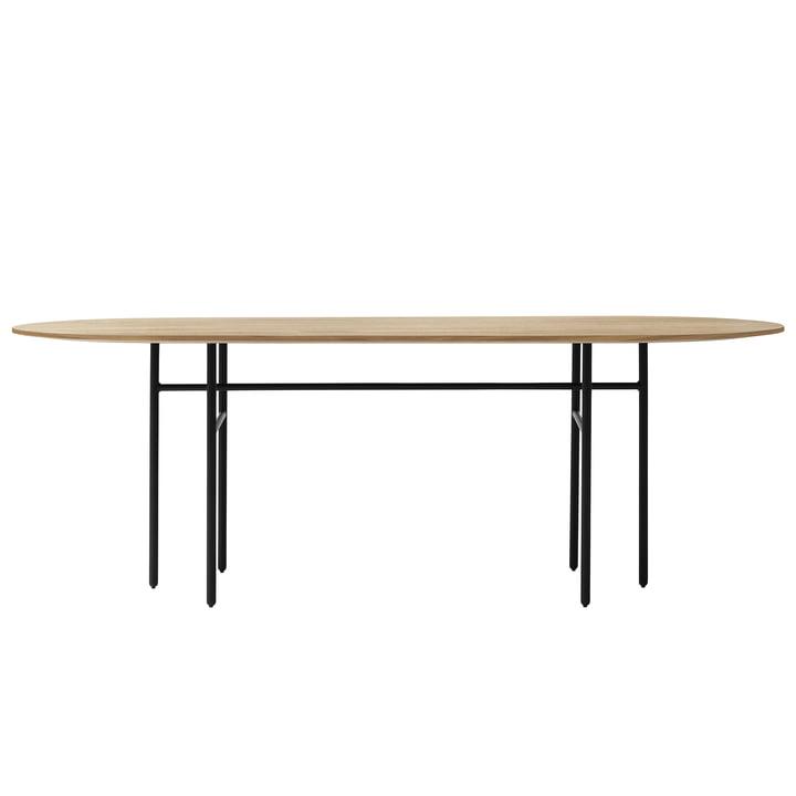 Snaregade Table oval from Menu in oak / black