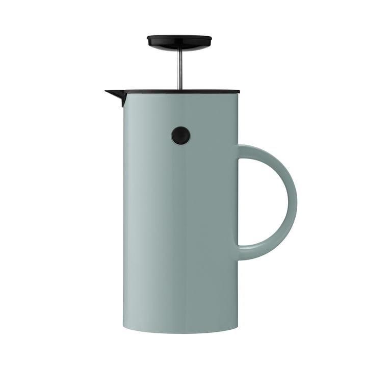 EM Coffee Maker, 1 l by Stelton in Dusty Green