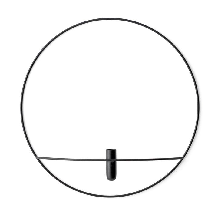 Pov Circle Vase L from Menu in black