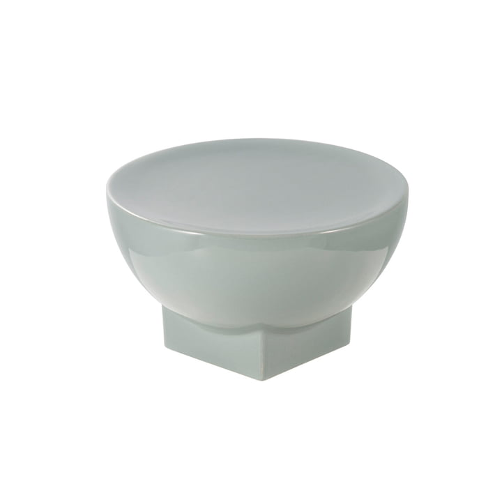 Mila Bowl, Small, H 12 x Ø 20 cm by Pulpo in Grey