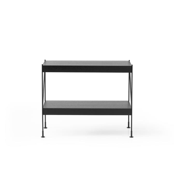 The Menu - Zet Storing System sideboard, 1 x 2 in black / black