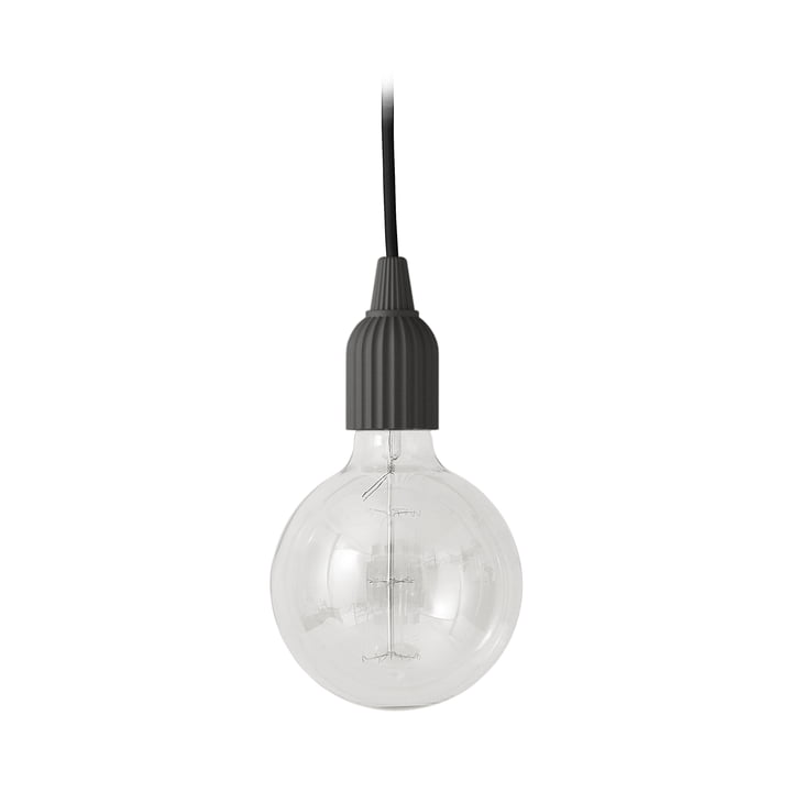 LP Fitting #01 Pendant lamp from Lyngby Porcelæn in black