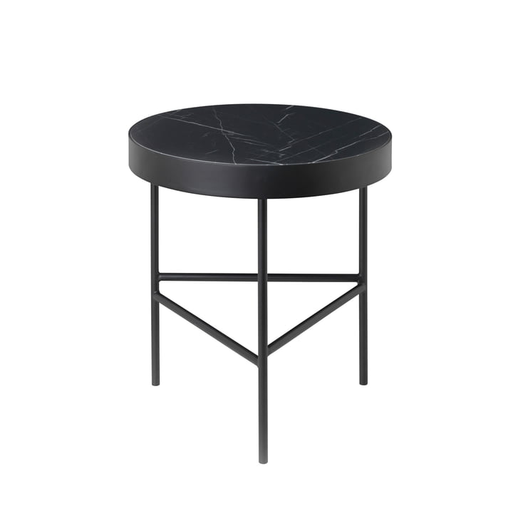 ferm Living - Marble Table small, black