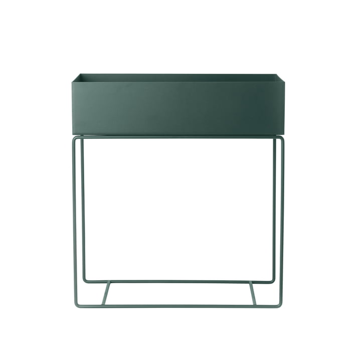 Plant Box from ferm Living in dark green