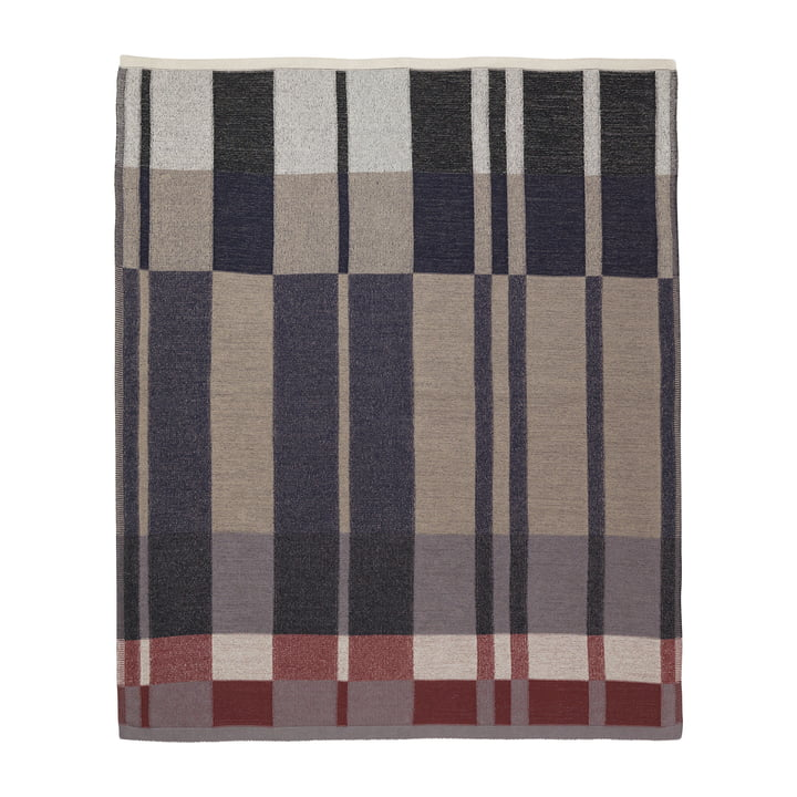 Medley Blanket by ferm Living in Dark Blue