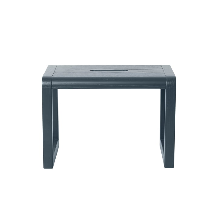 Little Architect Stool by ferm Living in Dark Blue