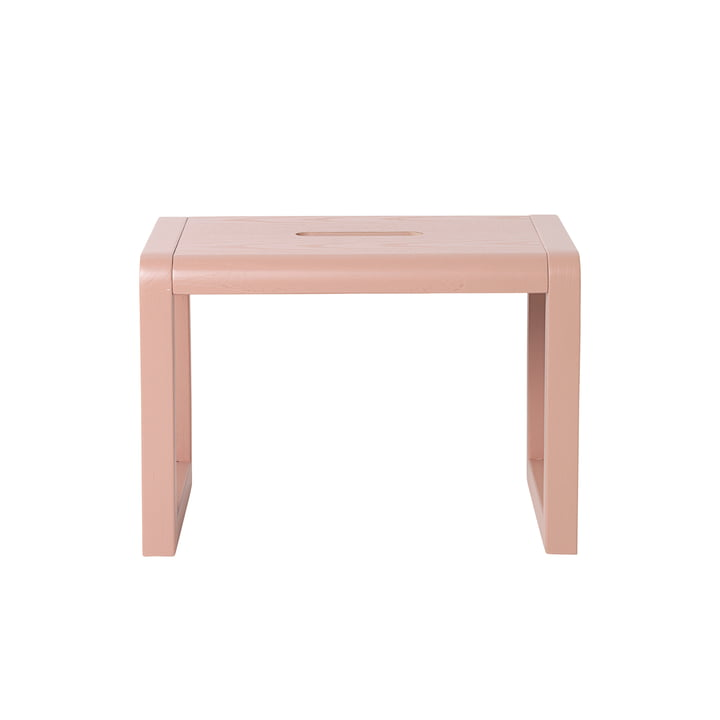 Little Architect Stool by ferm Living in Pink