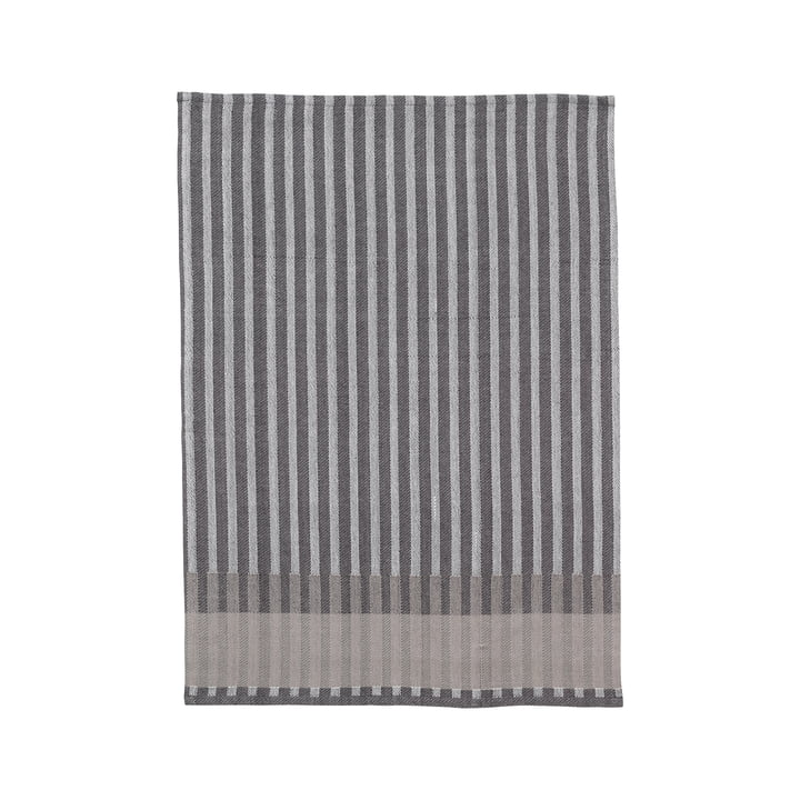 Grain Jacquard tea towel from ferm Living in grey