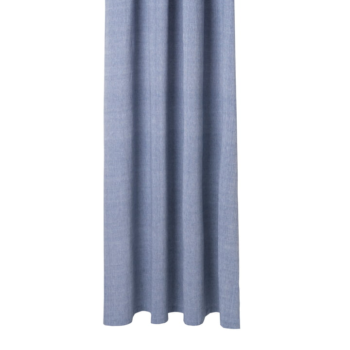 Chambray Shower curtain from ferm Living in blue
