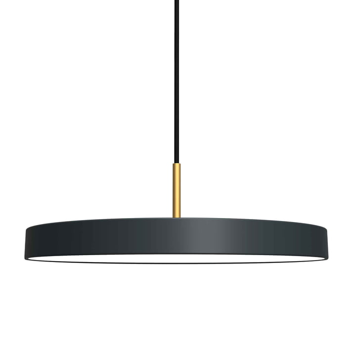Asteria Pendant Lamp LED by Umage in Anthracite