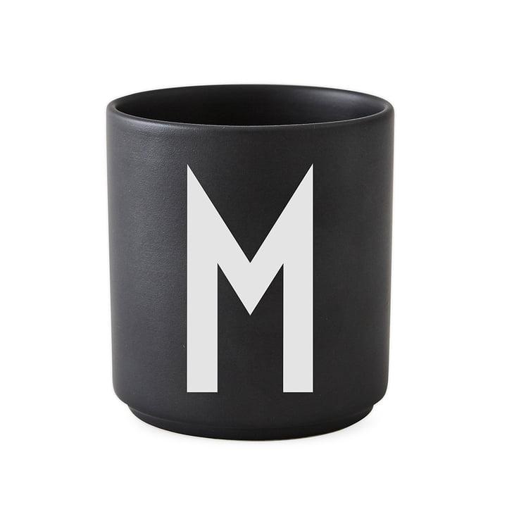 Design Letters - AJ Porcelain Cup M, black