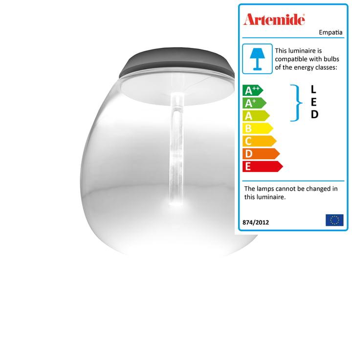Artemide - Empatia 26 Soffitto LED Ceiling Lamp, white