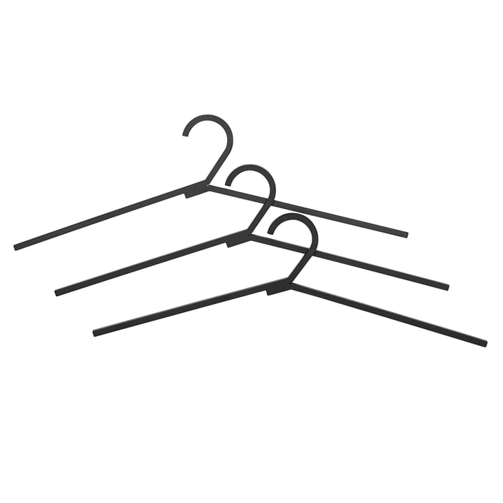 Hangar Clothes Hangers from by Lassen in Black