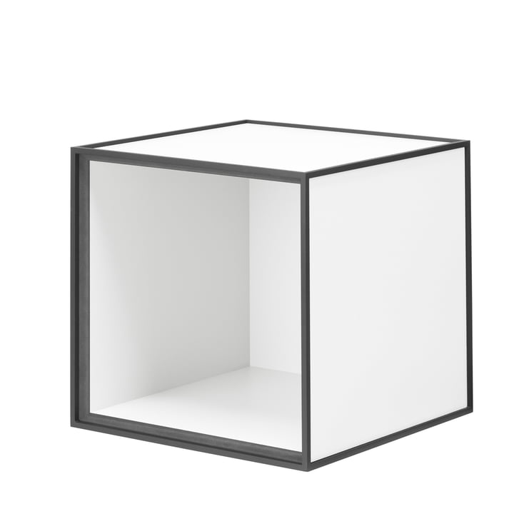 Frame wall cabinet 28 by Lassen in white