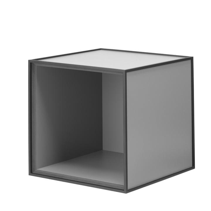 Frame wall cabinet 28 by Lassen in dark grey