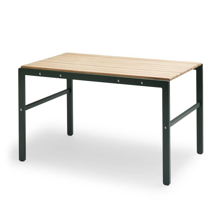 The Skagerak - Reform Table in Teak / Hunter Green