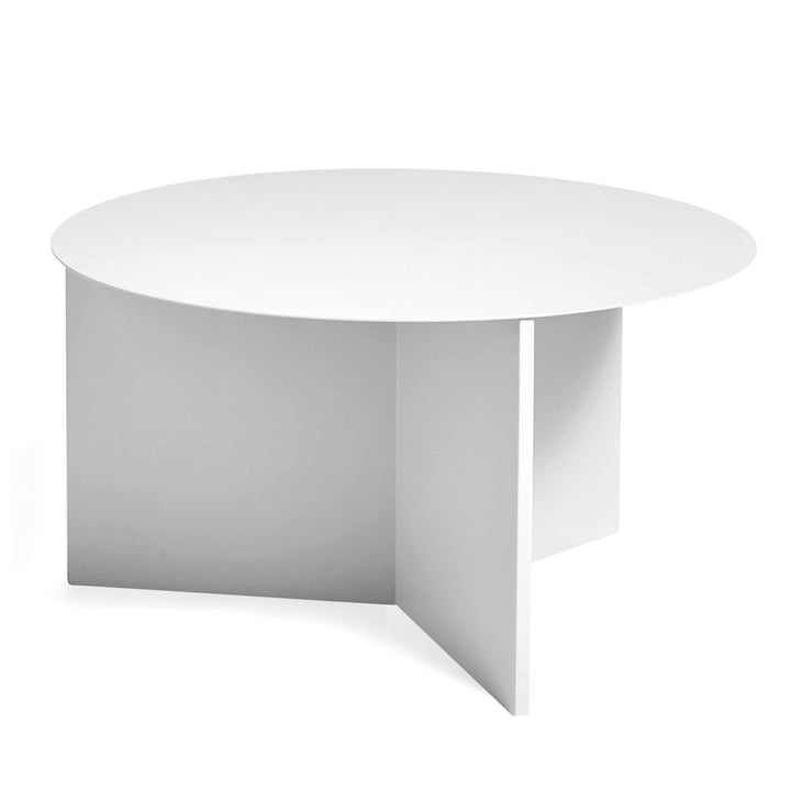 Hay - Slit Table XL in Brass