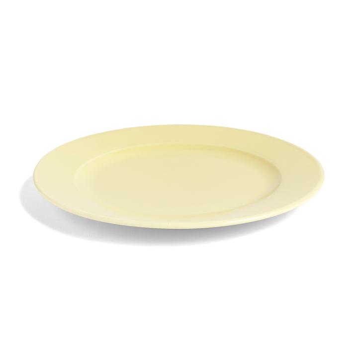 Hay - Rainbow plate M, Ø 24 cm / light yellow