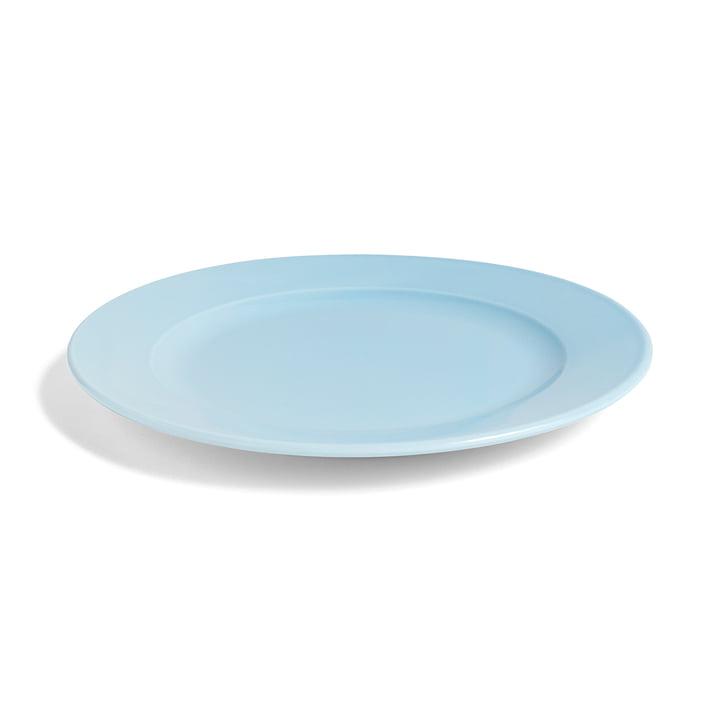 Hay - Rainbow plate M, Ø 24 cm / light blue