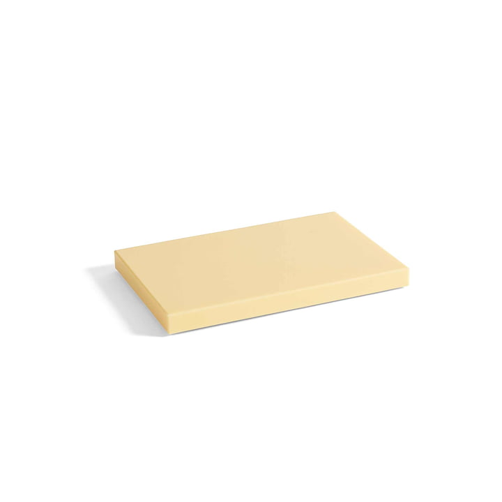 Round Chopping Board M by Hay in Bright Yellow